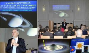 """Conférence : """"Lumières d'étoiles, les couleurs de l'invisible"""", avec André Brahic."""