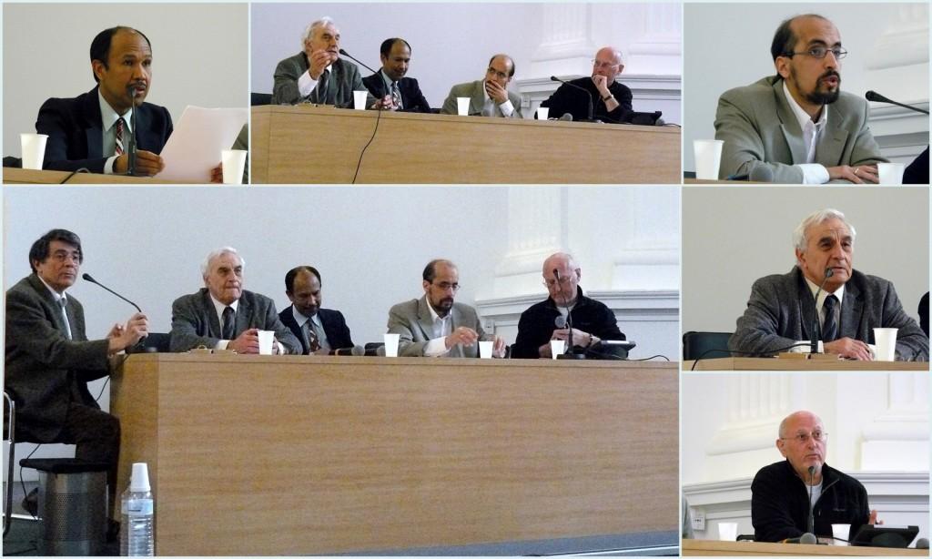 """Rencontre inter-religieuse : """"Les images de Dieu"""", avec des représentants des communautés : catholique, protestante, juive et musulmane."""