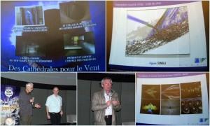 """Table ronde : """"Les cathédrales du vent"""", avec Jean Tensi et Pierre Comte."""