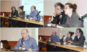 """Table ronde : """"L'édition numérique : une chance pour les pays en développement ?"""""""" avec Florence Hugues, Jean-Baptiste de Vathaire, et Thierry Quinqueton."""