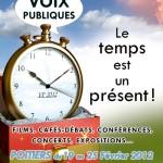 Affiche Voix Publiques 2012
